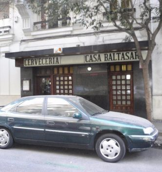 "RESTAURANTE ""CASA BALTASAR"" EN MADRID"