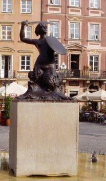 Ciudades y estatuas: Varsovia